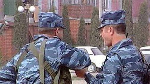 Обстрел машины с силовиками в Малгобеке