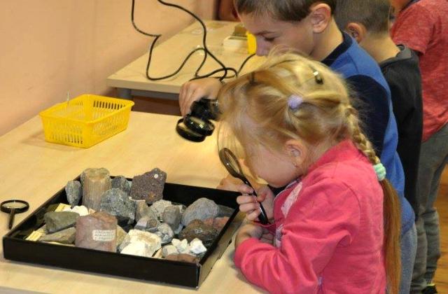 Малыши тоже могут почувствовать себя исследователями. Дни карьеры в Кулдиге