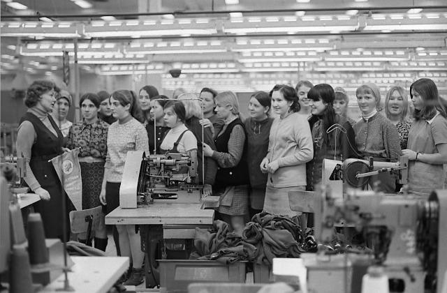 Огрский трикотажный комбинан, 1973 год
