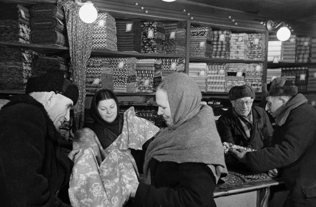Иллюстративное фото. В Москву - за покупками, 1959 год
