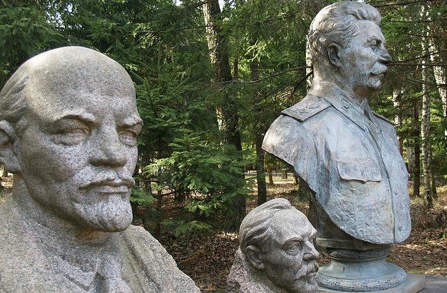Иллюстративное фото. Бюсты Ленина и Сталина были обязательным украшением скверов,  площадей и интерьеров