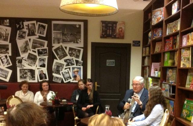 Встреча с Андрейсом Плакансом в Риге - в книжном клубе
