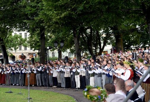 Олимпиада европейских хоров в Риге
