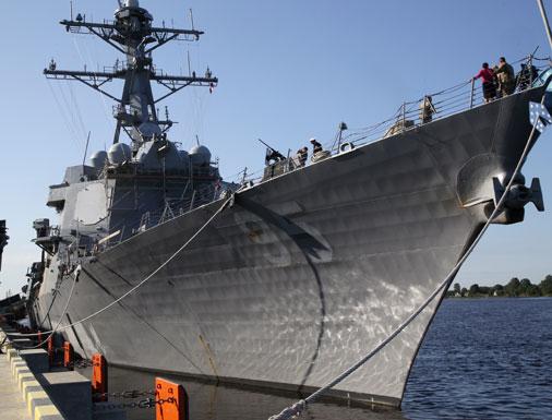 Корабль ВМС США типа «Арли Бёрк» James Williams (DDG-95)