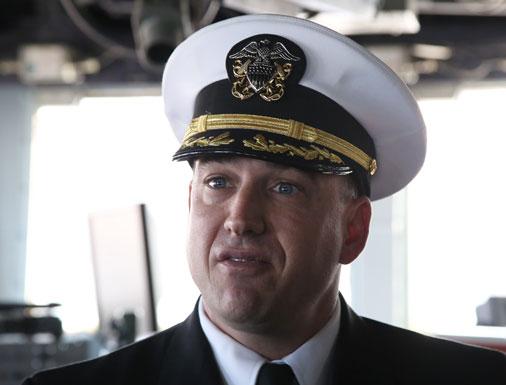 Капитан корабля Allen Siegrist