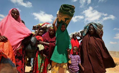 Голод в Сомали в 2017 году вновь стал бедствием, сотни тысяч людей нуждаются в помощи
