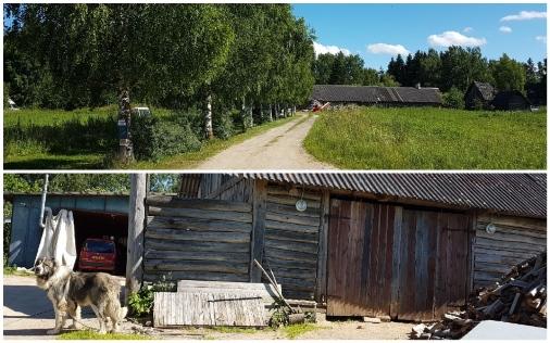 Дом Романова возле эстонско-российской границы