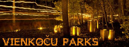 Тысячи огноньков зажгут в парке под Лигатне