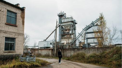 Работающие производства в Северной индустриальной зоне тоже есть