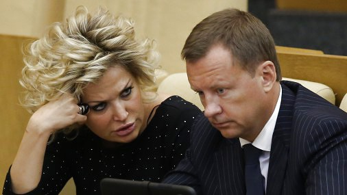 Денис Вороненков с супругой Марией Максаковой