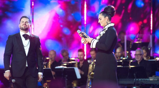 Интарс Бусулис и Елена Ваенга