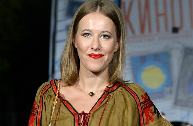 Ксения Собчак тоже поддалась соблазну показать свою естественную красоту и...