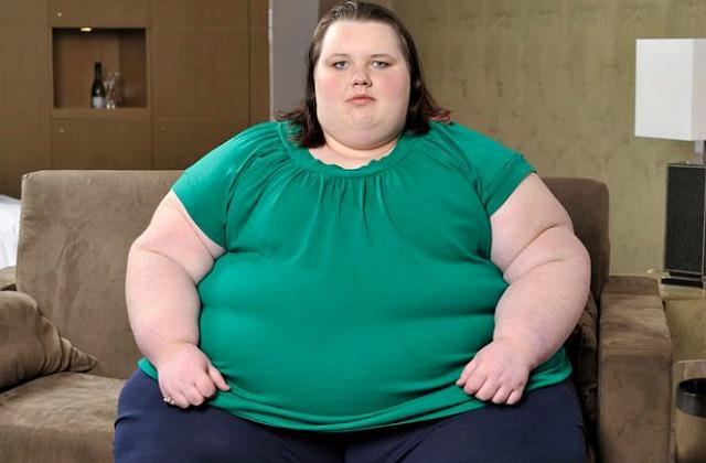 Фото толстой девушки в