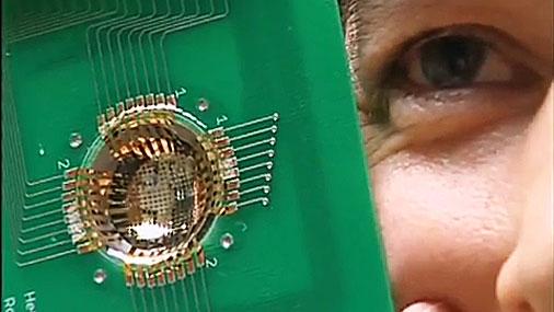 создали искусственный глаз