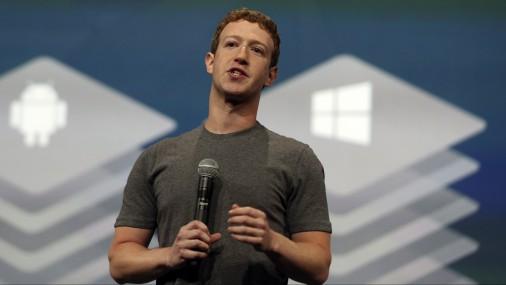 Основатель соцсети Марк Цукерберг