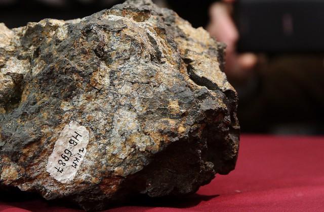 Осколок челябинского астероида