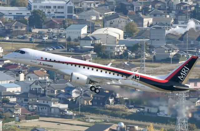 ВЯпонию экстренно вернулся самолет MRJ, вылетевший вСША для тестов