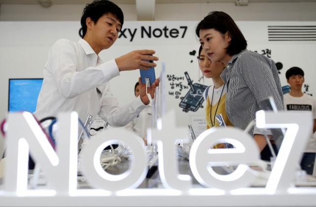Названы сроки старта продаж Самсунг Galaxy Note 7 в РФ