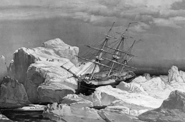 ВАрктике отыскали затонувший 170 лет назад корабль