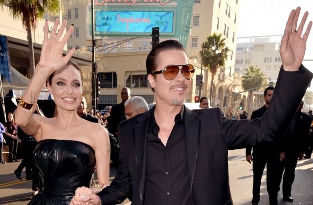 Джоли разводится сПиттом из-за его ссор с15-летним сыном Мэдоксом