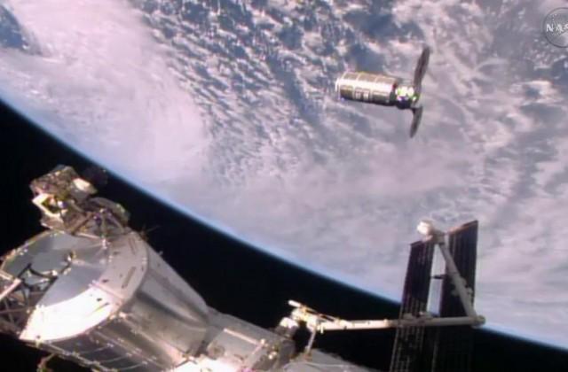 Космический грузовой автомобиль Cygnus сукраинским агрегатом прибыл наМКС
