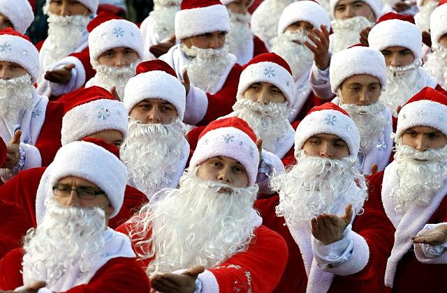 Физики пояснили, почему нестареет Санта-Клаус