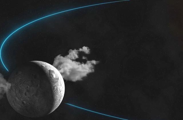 Уфологи увидели корабль пришельцев, взлетающий сСолнца