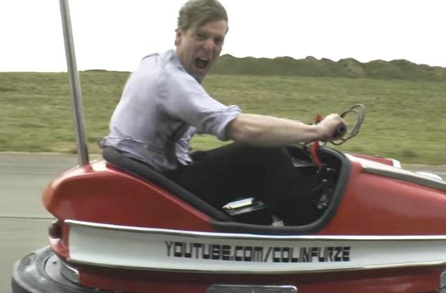 Гонщик Стиг из«Топ Гир» установил мировой рекорд наавтомобиле для аттракционов