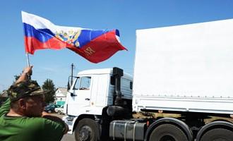 Российскую гуманитарную помощь Обама и Меркель назвали провокацией
