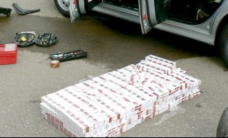 Доля контрабандных сигарет в Латвии превышает 30%