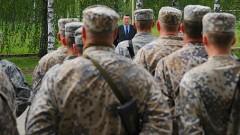 Пятеро военнослужащих Латвии отправились на Украину
