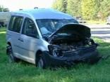 В серьезной аварии в Сигулде чудом все остались живы