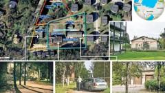 Недалеко от Таллина все еще сохранился российский кордон