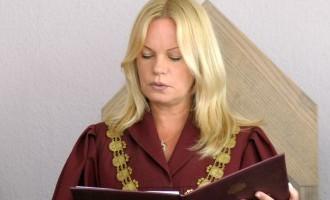 Судья Берзиня задержана на основании показаний бывшего прокурора Богдановой