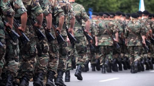 Отправленных в резерв солдат мобилизуют на учения