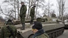 Ополченцы объявили о завершении отвода тяжелых вооружений