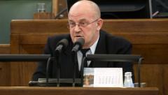 Депутат Сейма Адамсонс не отказывается от своих слов, сказанных российскому телеканалу