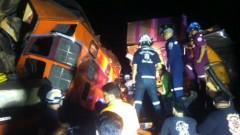 В Таиланде столкнулись два пассажирских поезда