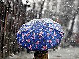 В четверг синоптики обещают дождь со снегом