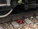В Риге поездом разрубило человека