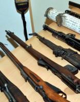 В Латгалии находят много нелегального оружия