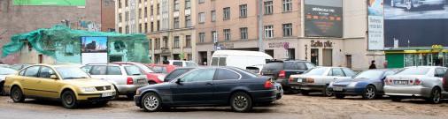К 2030 году из Риги уберут 60% автостоянок
