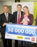 Кто стал 50-миллионным пассажиром аэропорта «Рига»