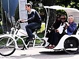 Полиция Рижского самоуправления оштрафовала почти 50 велорикш