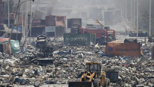 После взрывов воздух над Таньцзинем отравлен, - СМИ
