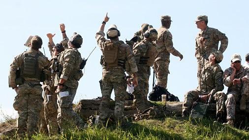 Безопасность Латвии в настоящее время обеспечивают 460 солдат стран НАТО