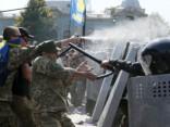 Бросивший гранату в силовиков у Рады задержан