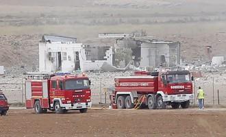 В Испании мощный взрыв прогремел на заводе по производству фейерверков