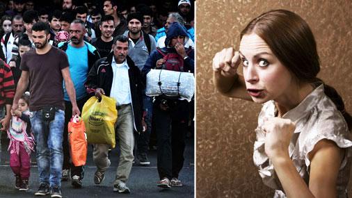 Иммиграционный кризис глазами домохозяйки