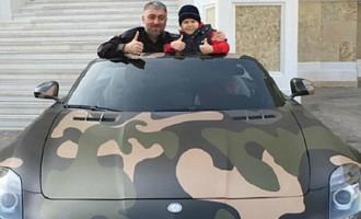 Сын Кадырова на восьмилетие получил Merсedes